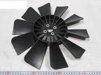 Вентилятор системы охлаждения (крыльчатка) Газель,Соболь 10 лопастной черный с шайбой (производство Россия)