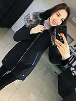 Женское зимние пальто с капюшоном  от 42 до 50 размера РАЗНЫЕ ЦВЕТА