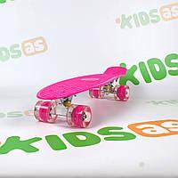 Скейт MS 0848-5 Rose Penny Board свет колес, фото 1