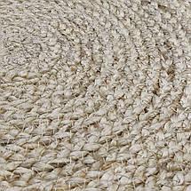 Ковер джутовый (круглый), фото 3