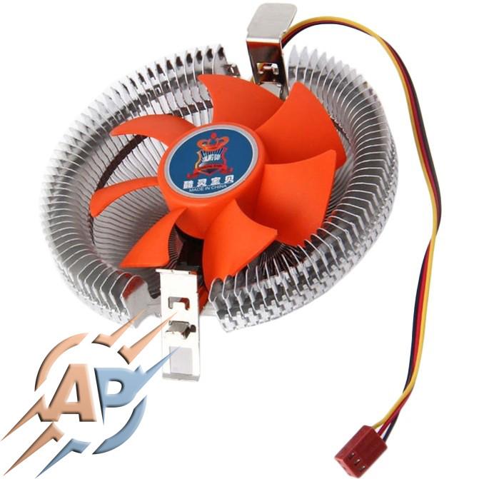Кулер для процессоров Intel и AMD + термопаста