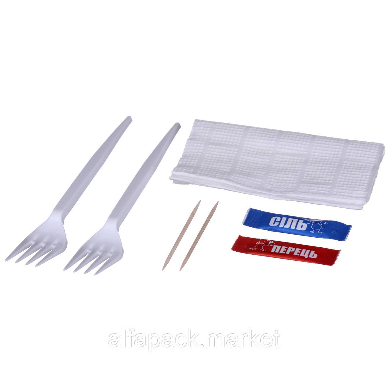 Набор одноразовой посуды Food  №21 8 предметов