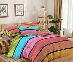 Двуспальный комплект постельного белья 180*220 сатин (12179) TM КРИСПОЛ Украина