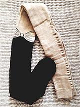 Махровые колготы детские бежевого цвета ТМ Jnnior (Украина)  размер 140 146, фото 2
