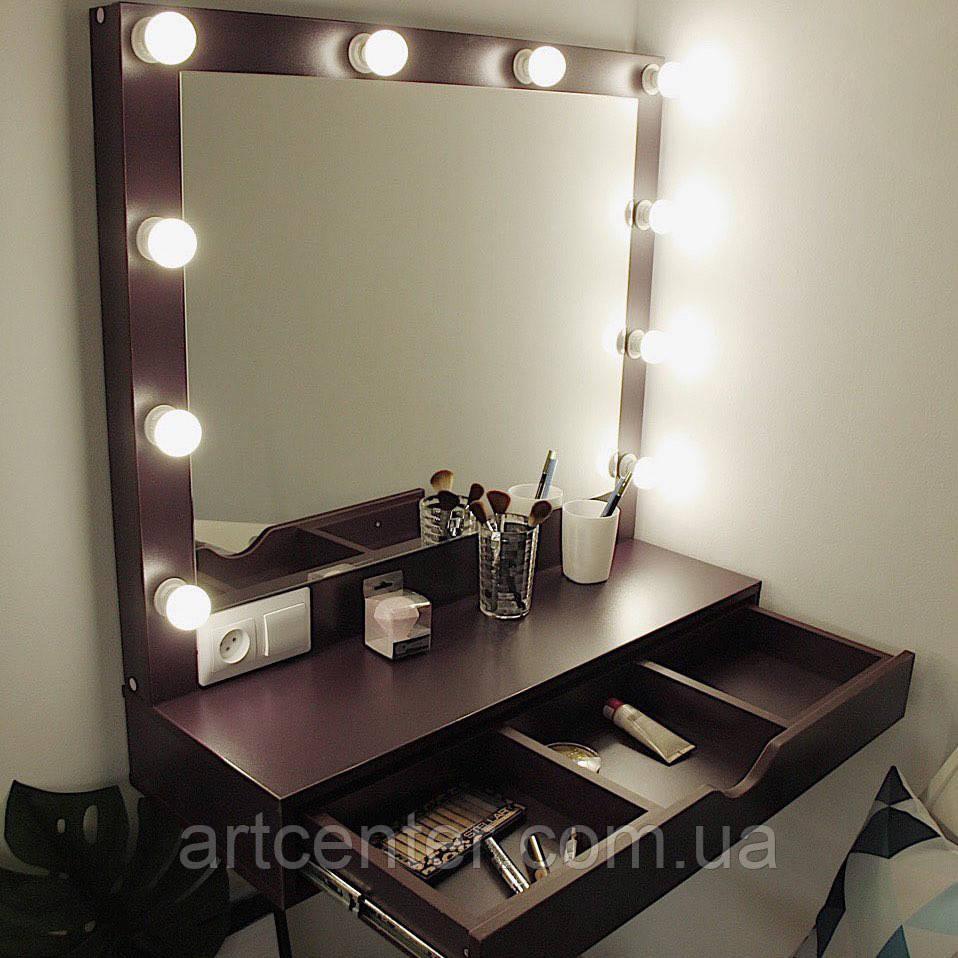 Навесной столик для макияжа