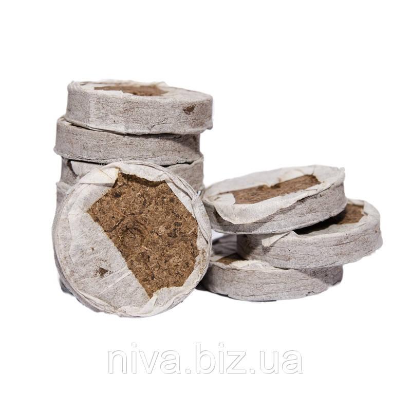 Торфяні таблетки диск діаметр 42 мм