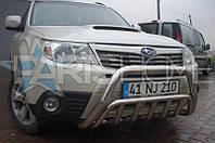 Кенгурятник Кенгур Передняя защита V2 Subaru Forester 2008-2012