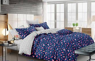 Двуспальный комплект постельного белья 180*220 сатин (11902) TM КРИСПОЛ Украина