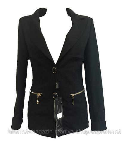 Женский пиджак две пуговицы