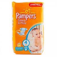 Подгузники Pampers Sleep and Play 4 Maxi 7-14 кг 68 шт