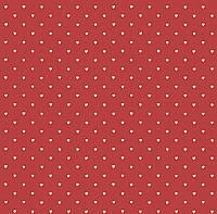 Обои бумажные VIP  Сердечки красный 41306