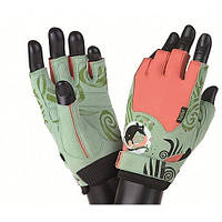 Перчатки для фитнеса Mad Max Rats Swarowski MFG730 (M/S) - светло-зеленый  (46154)
