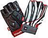 Перчатки для фитнеса Mad Max Nine-Eleven MFG911 (M) - зебра (47323)