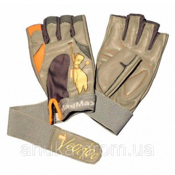 Перчатки для фитнеса Mad Max Voodoo MFG921 (M) - оранживые (47327)