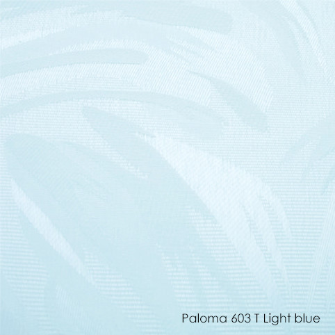 Вертикальні жалюзі Paloma-603T light blue