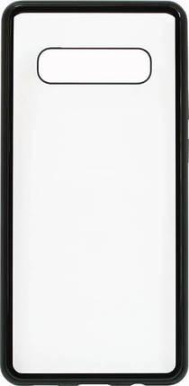 Накладка SA G975 S10 Plus black bamper Metall Magnetic Case, фото 2