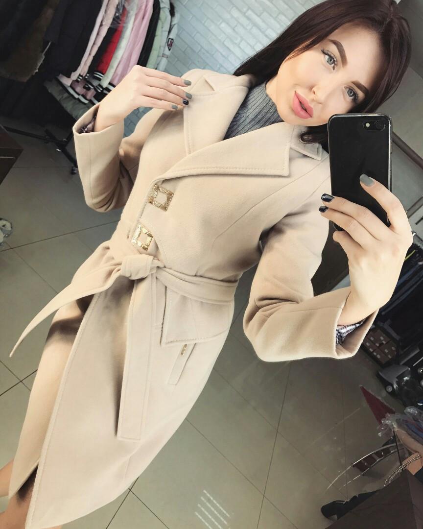 Женское кашемировое пальто   от 42 до 48 размера РАЗНЫЕ ЦВЕТА