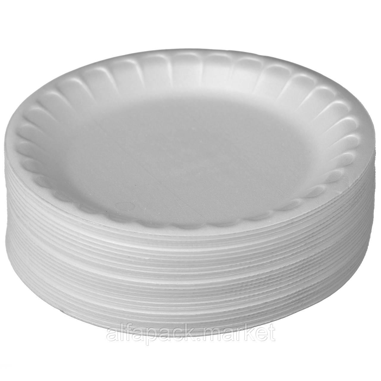 Набор одноразовой посуды Food Packing  Тарелка ВПС Десертная 170 мм 25 персон 000001969