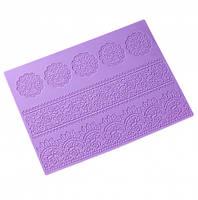 Силиконовый коврик для айсинга Розы 38х28 см