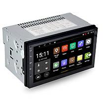 ➜Автомагнитола Lesko 7003А 2DIN 7-ми дюймовый экран с Android 8.1 функция навигатора GPS Bluetooth Wi Fi, фото 3