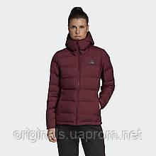 Пуховик женский Adidas Helionic Hooded DZ1495