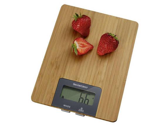Кухонные Весы SILVERCREST® Kitchen Scale SKWS 5 A1 wood, фото 2