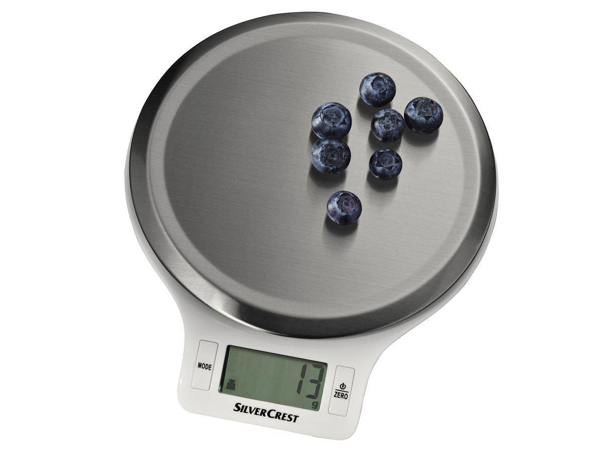 Кухонные Весы SILVERCREST® Kitchen Scale SKWS 5 A1 round