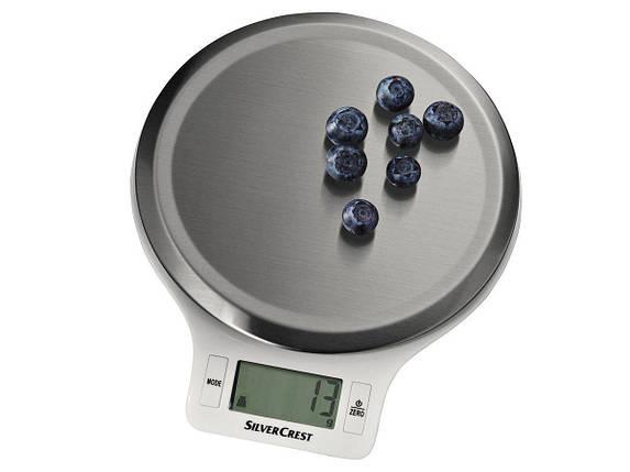 Кухонные Весы SILVERCREST® Kitchen Scale SKWS 5 A1 round, фото 2