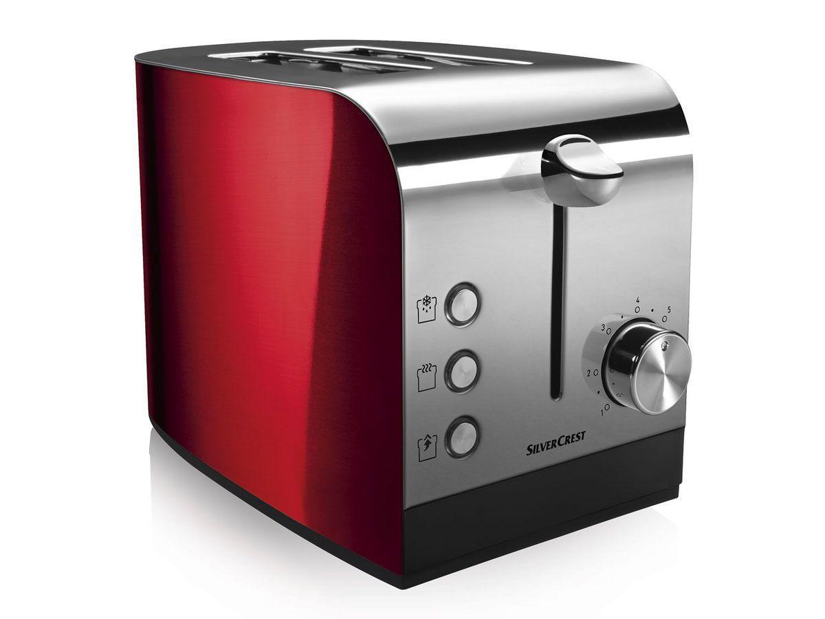 Тостер SILVERCREST® Toaster STS 850 B1 red