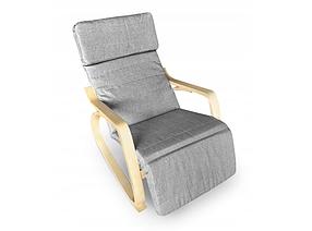 Кресло качалка Lucaro Natural, 120кг