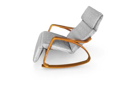 Кресло качалка Lukaro Brown, 120кг, фото 2
