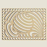 Прямоугольное донышко для вязанных корзин Shasheltoys (100315.125) 125х175 мм