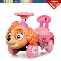 Детская машинка-толокар 6567 Щенячий Патруль Скай с музыкой и светом