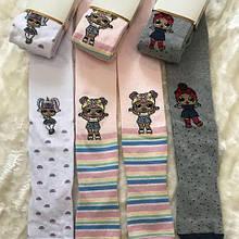 Детские колготки для девочки katamino Турция K30090 Белый, серый, розовый весенняя осенняя демисезонная