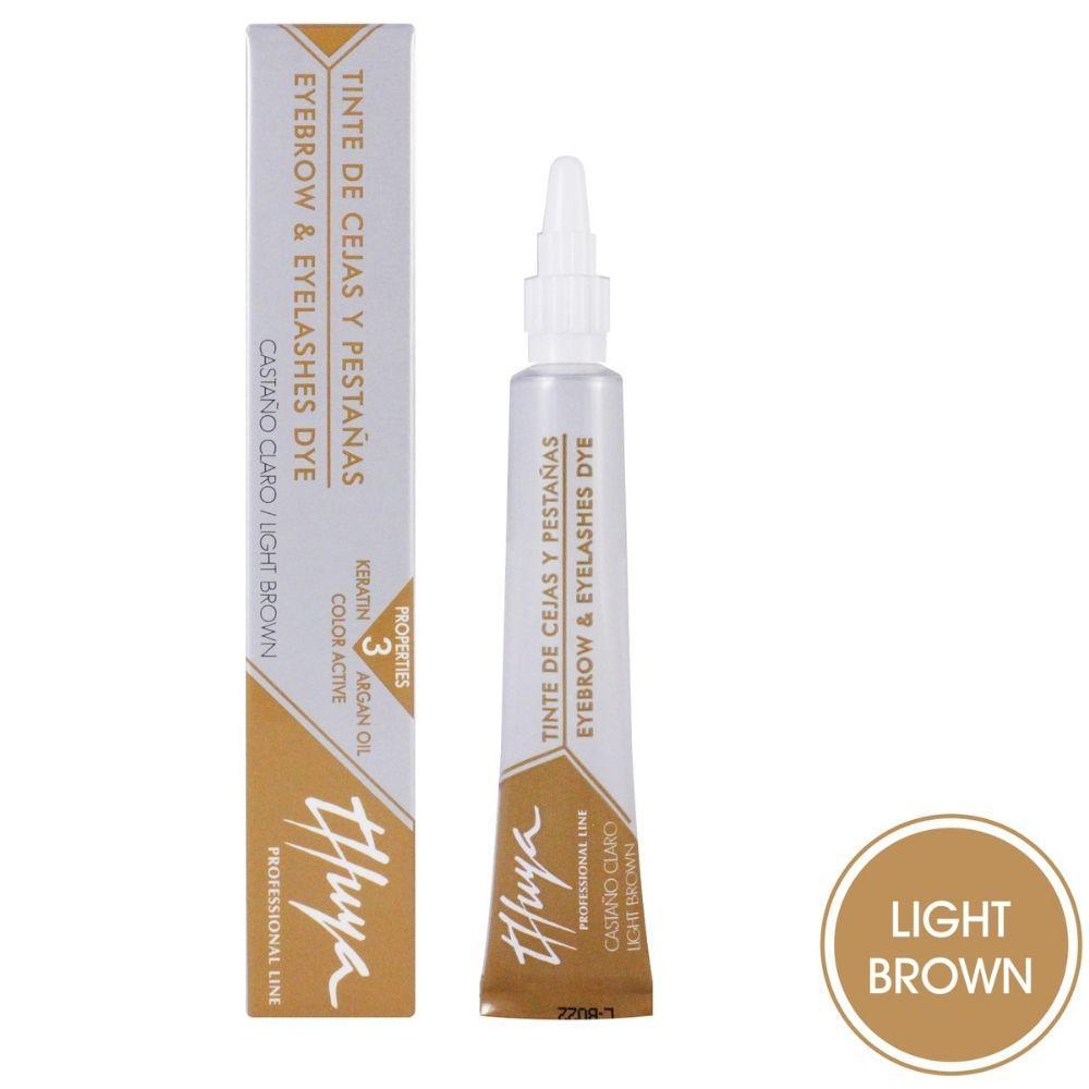 Краска для бровей и ресниц светло-коричневая Thuya 14 мл