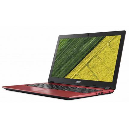 Ноутбук Acer Aspire 3 A315-53 15.6FHD AG/Intel Pen 4417U/8/256F/int/Lin/Red, фото 2