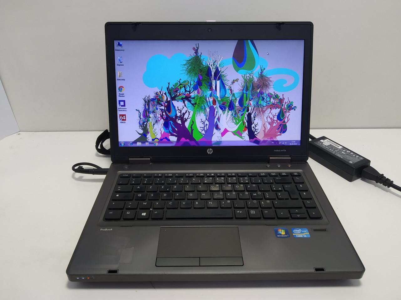 "14"" HP ProBook 6470b Intel Core i5 3320m 2.6-3.3, 4 ГБ DDR3,  новый 120 ГБ SSD, АКБ до 5 ч. Полностью настроен"