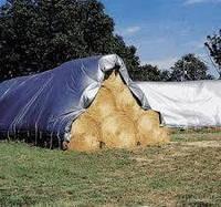 Тенты водостойкие для зерна, сена, силоса, агрохимии Tarpaulin MOCNA 110 г/м2 15х20 м