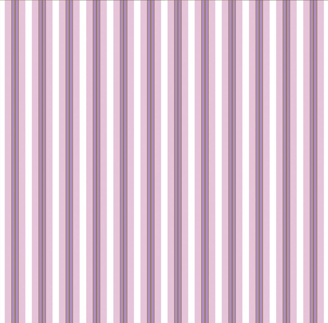 Обои бумажные VIP  Полоса узкая розовый с сиреневым 41704