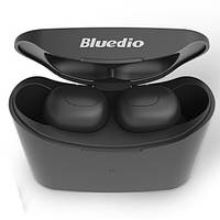 Наушники вакуумные беспроводные Bluedio T-elf  с микрофоном (черные)