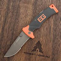Нож складной туристический Gerber Bear Grylls для рыбалки + кобура, охотничий