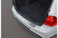 Накладка на задний бампер BMW 3 (E91) SW (2005-2011) 1216095t