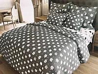Комплект постельного белья семейный ранфорс 100% хлопок. (арт.12537)