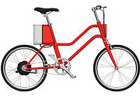 Электровелосипед Xiaomi YunBike C1 Women`s Elegant Red