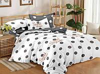 Комплект постельного белья семейный ранфорс 100% хлопок. (арт.12539)