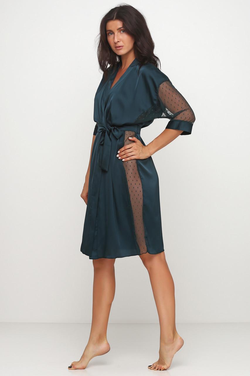 Длинный женский  халат 50 размера