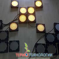 Светодиодный сигнальный светофор Pharos, цвет жёлтый, 200 мм, 24 В