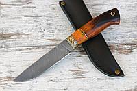 """Нож ручной работы из дамасской стали """"Компаньон"""""""