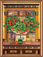"""РАСПРОДАЖА! Набор для вышивки бисером на натуральном художественном холсте """"Буфет в гостиной"""""""