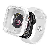 Чехол-накладка DK Silicone Rugged Shield для Apple Watch 40mm Series 4 (white)